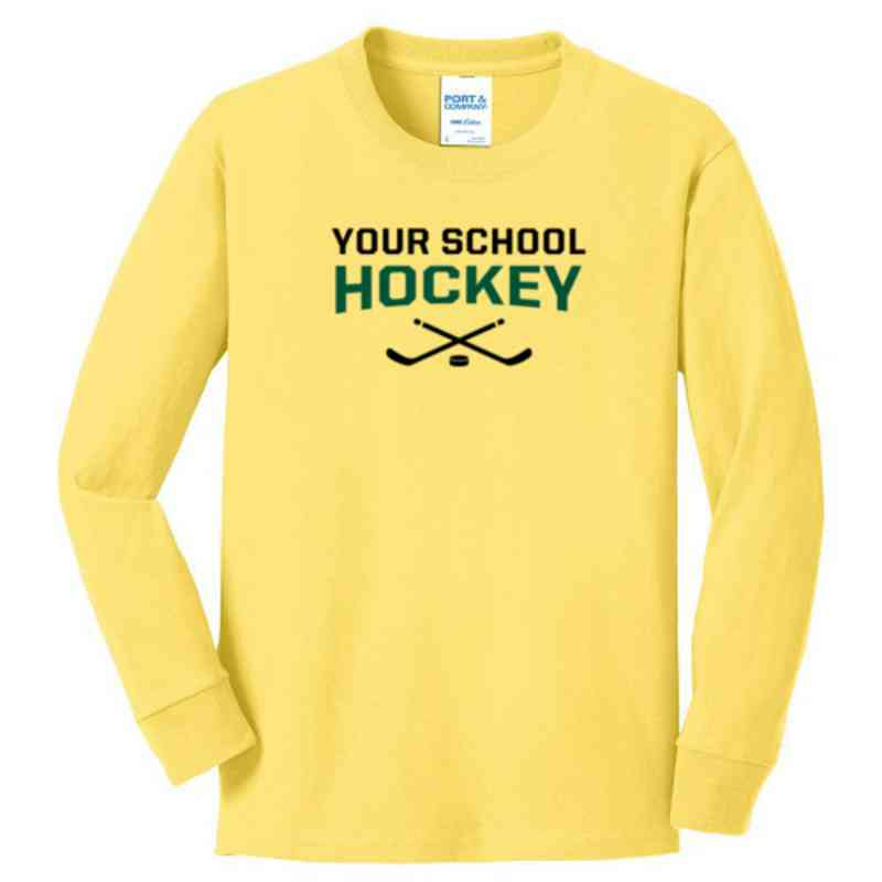 Hockey Youth Classic Fit Long Sleeve T-shirt