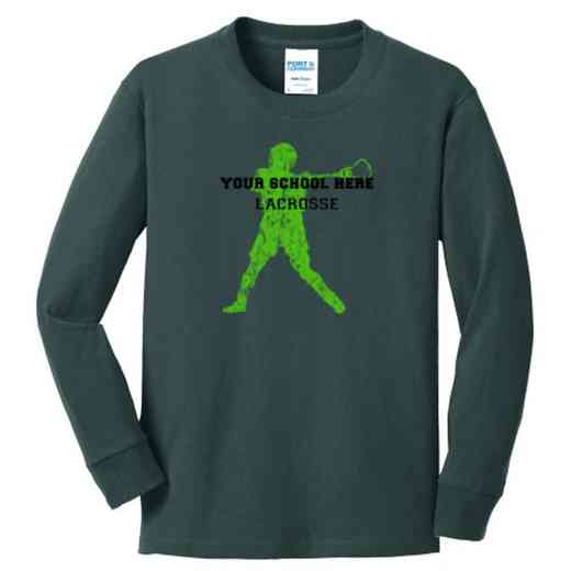 Lacrosse Youth Classic Fit Long Sleeve T-shirt