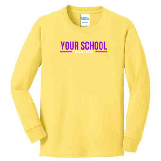Rugby Youth Classic Fit Long Sleeve T-shirt