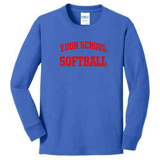 Softball Youth Classic Fit Long Sleeve T-shirt
