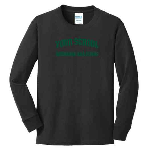 Swimming and Diving Youth Classic Fit Long Sleeve T-shirt