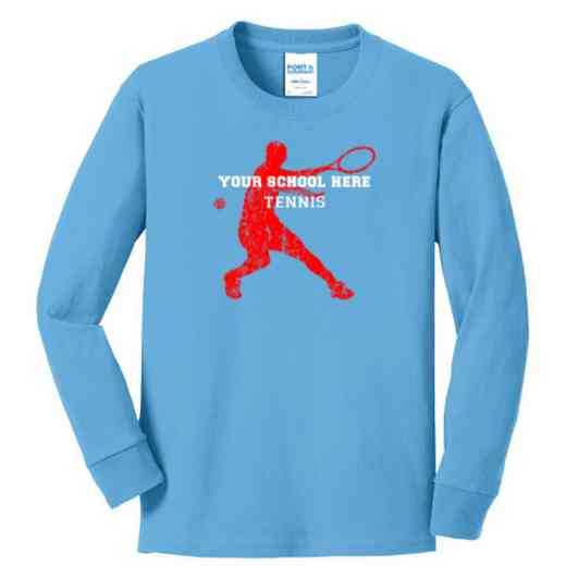 Tennis Youth Classic Fit Long Sleeve T-shirt