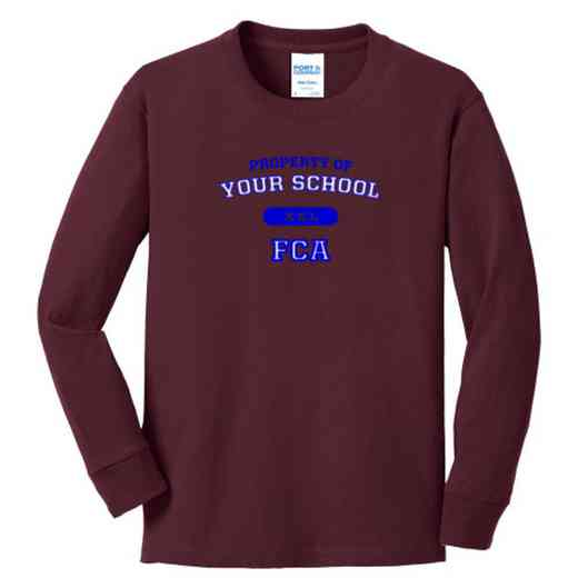 FCA Youth Classic Fit Long Sleeve T-shirt