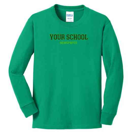 Newspaper Youth Classic Fit Long Sleeve T-shirt
