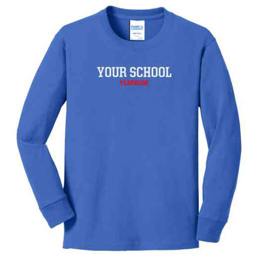Yearbook Youth Classic Fit Long Sleeve T-shirt