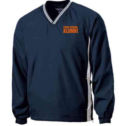 Alumni Embroidered V-Neck Raglan Windshirt