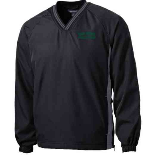 Athletic Trainer Embroidered V-Neck Raglan Windshirt