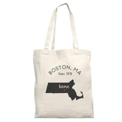 8110622MA: Nat Canvas Tote Bag-MA