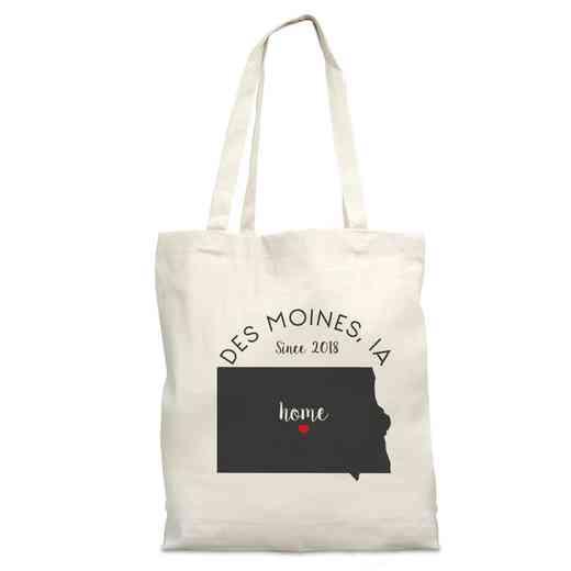 8110622IA: Nat Canvas Tote Bag-IA