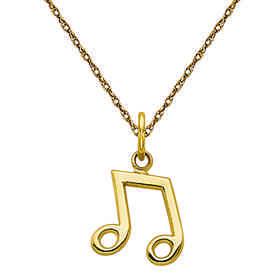 C1094/5RY-18: 14k YG Musical Note Charm