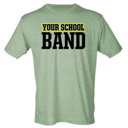 Band Mens Heather Blend T-shirt