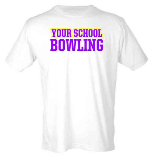 Bowling Mens Heather Blend T-shirt
