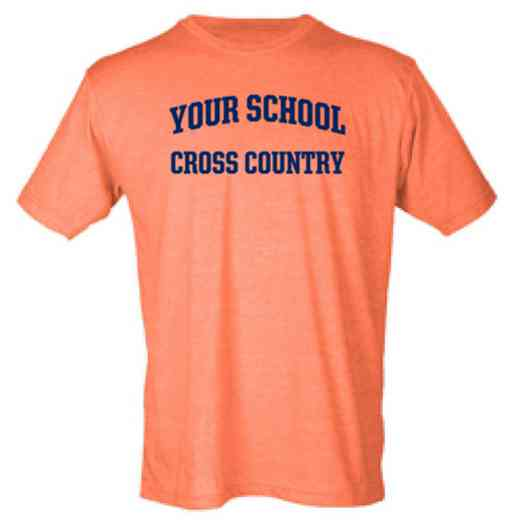 Cross Country Mens Heather Blend T-shirt