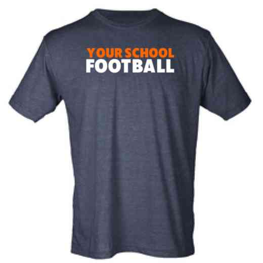 Football Mens Heather Blend T-shirt