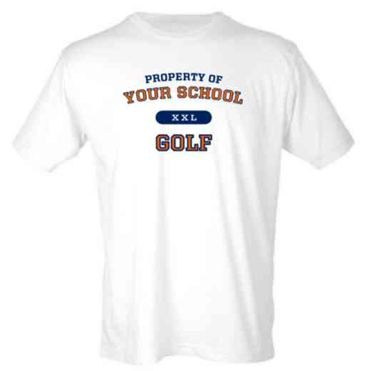 Golf Mens Heather Blend T-shirt