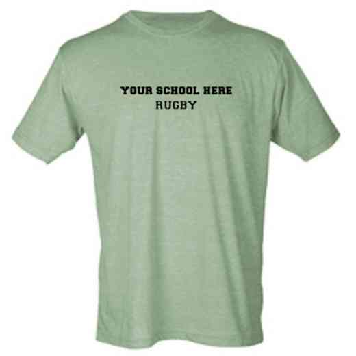 Rugby Mens Heather Blend T-shirt