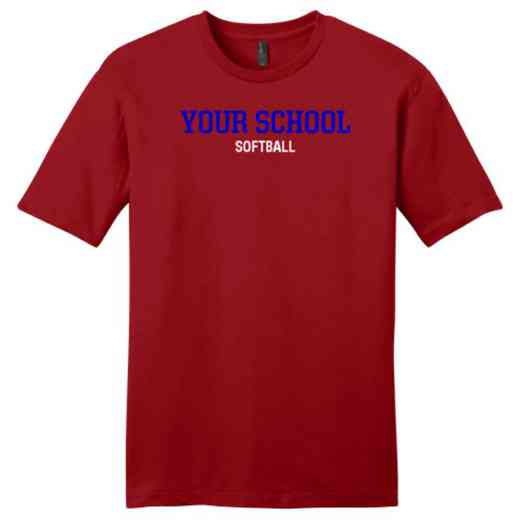 Softball Fine Jersey T-Shirt