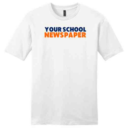 Newspaper Fine Jersey T-Shirt