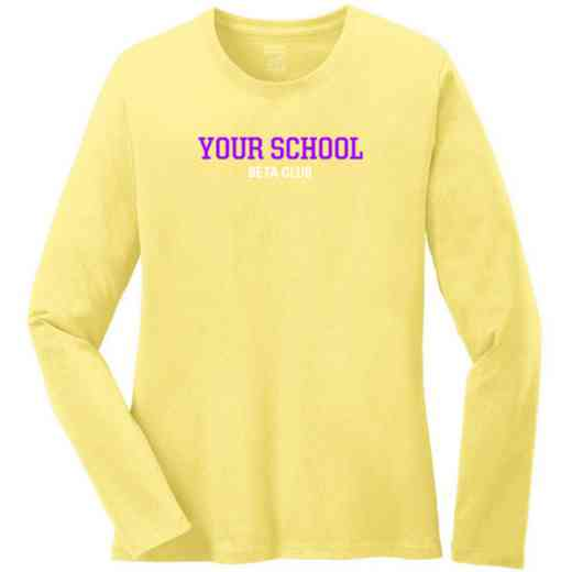 Beta Club Women's Classic Fit Long Sleeve T-shirt