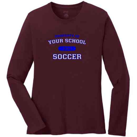Soccer Women's Classic Fit Long Sleeve T-shirt