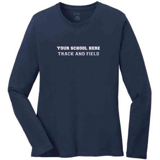 Track and Field Women's Classic Fit Long Sleeve T-shirt