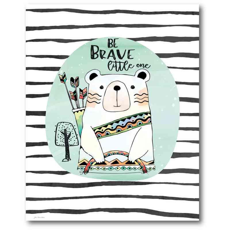 WEB-TS204-16x20: Brave Bear , 16x20