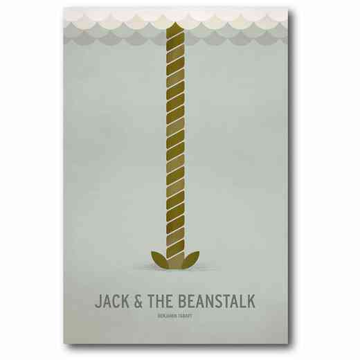 WEB-MV296-12x18: Jack and the Beanstalk , 12x18