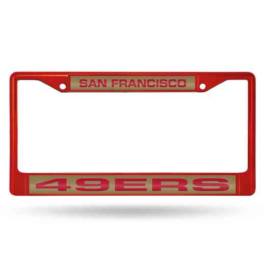FNFCCL1903RD: NFL FCCL Lsr Color Chrome Frame 49ers