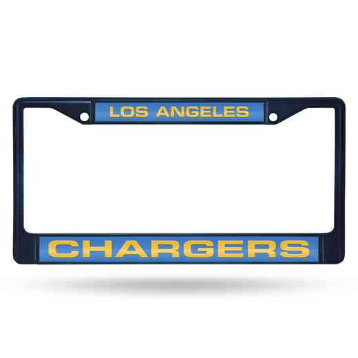 FNFCCL3402NV: NFL FCCL Lsr Color Chrome Frame Chargers