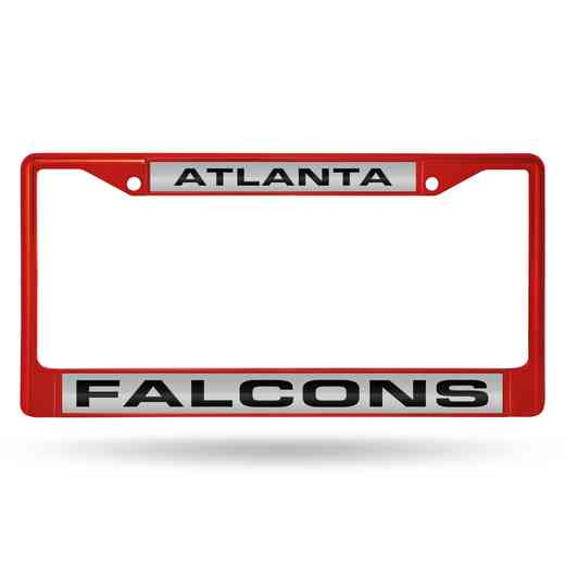 FNFCCL2002RD: NFL FCCL Lsr Color Chrome Frame Falcons