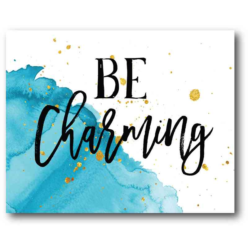 WEB-TS164-16x20: Be Charming , 16x20