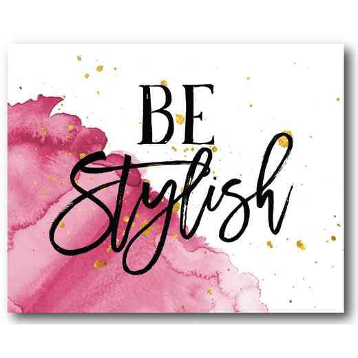 WEB-TS166-16x20: Be Stylish , 16x20
