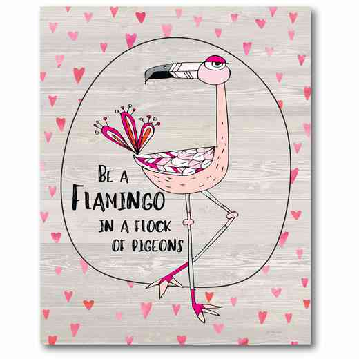 WEB-TS200-16x20: Flamingo , 16x20