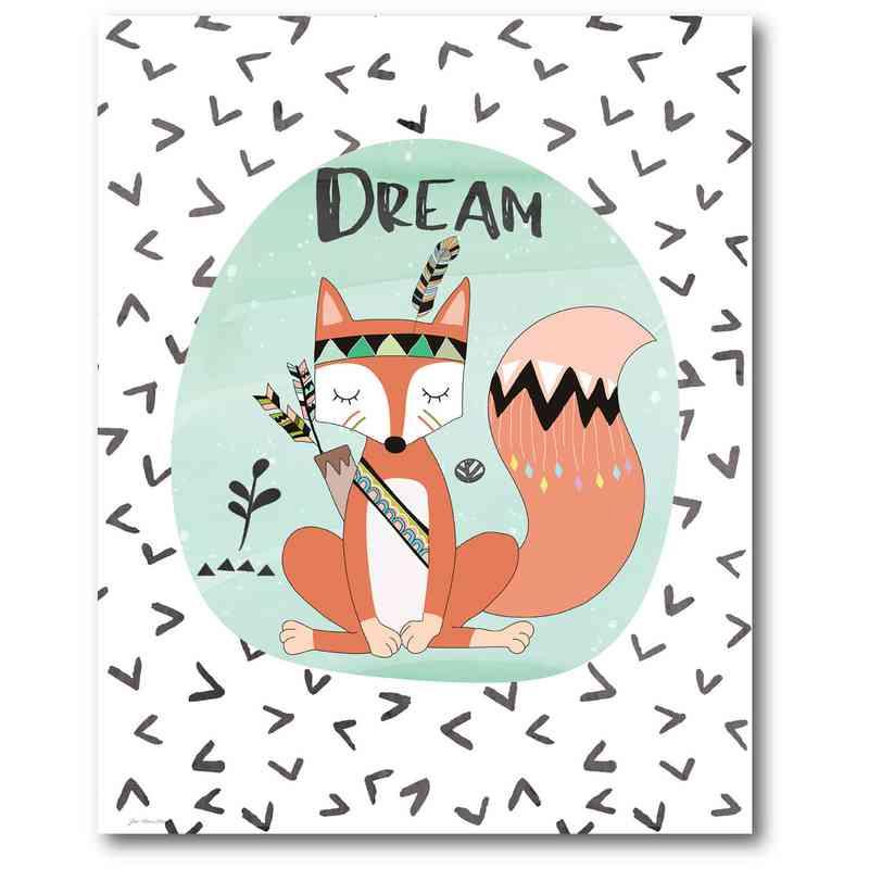 WEB-TS201-16x20: Dream Fox , 16x20