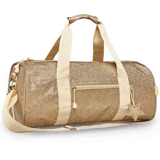 303029: Bixbee Sparkalicious Gold Duffle - Large