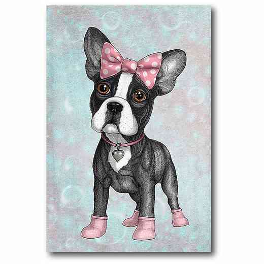 WEB-MV357-12x18: Sweet Frenchie , 12x18