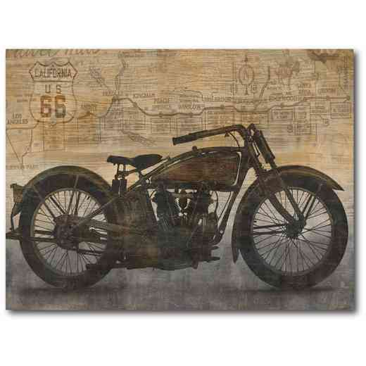 WEB-ID292-18X24: Motorcycle, 18x24