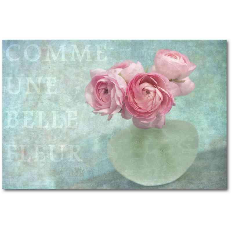 WEB-SC563-24X36: Belle Fleur , 24x36