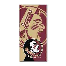 1COL622000015RET: COL 622 Florida State Puzzle Beach Towel