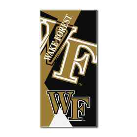 1COL622000095RET: COL 622 Wake Forest Puzzle Beach Towel