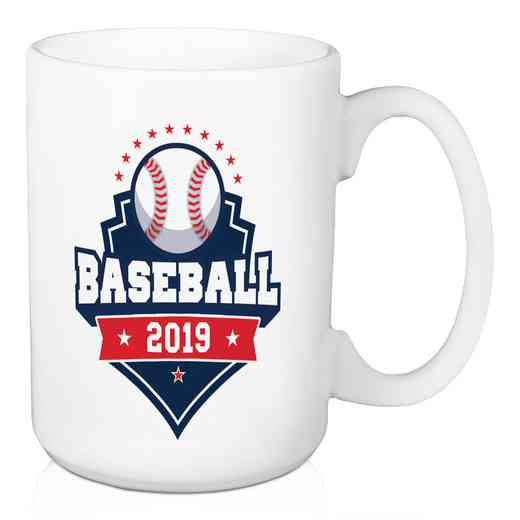 4628-AM: Personalized Mug - Baseball