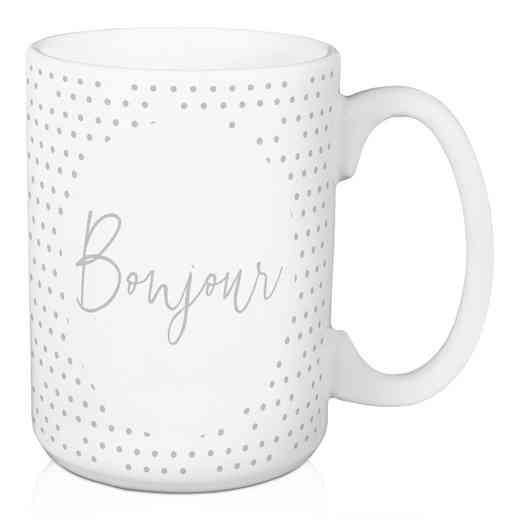 Mug- Bonjour: Unisex