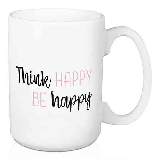 Mug- Think Happy Be Happy: Unisex