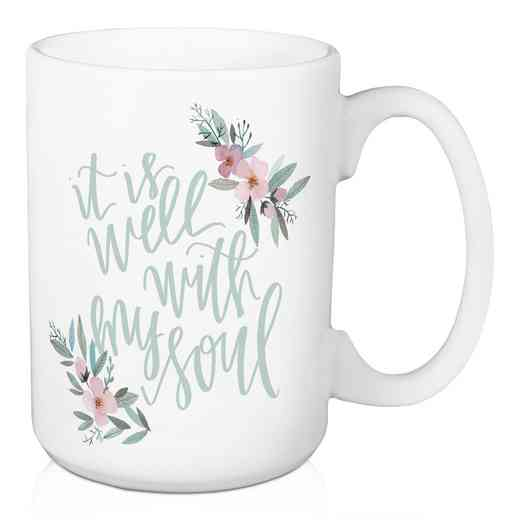 Mug- It is well with my soul: Unisex