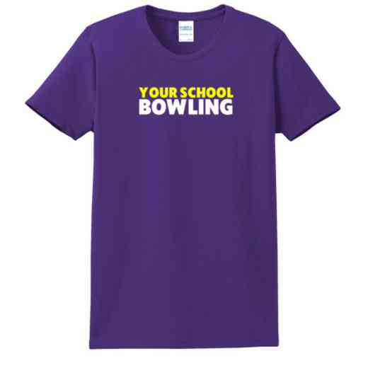 Bowling Women's Classic Fit Heavyweight Cotton T-shirt