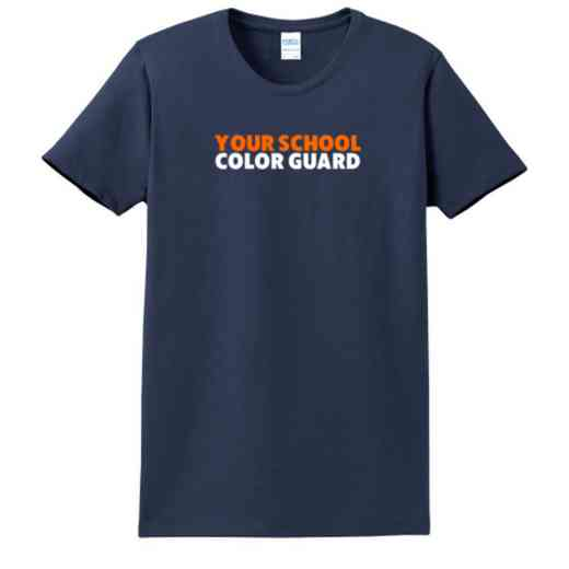Color Guard Women's Classic Fit Heavyweight Cotton T-shirt