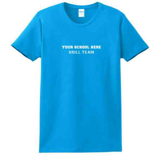 Drill Team Women's Classic Fit Heavyweight Cotton T-shirt