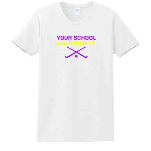 Field Hockey Women's Classic Fit Heavyweight Cotton T-shirt