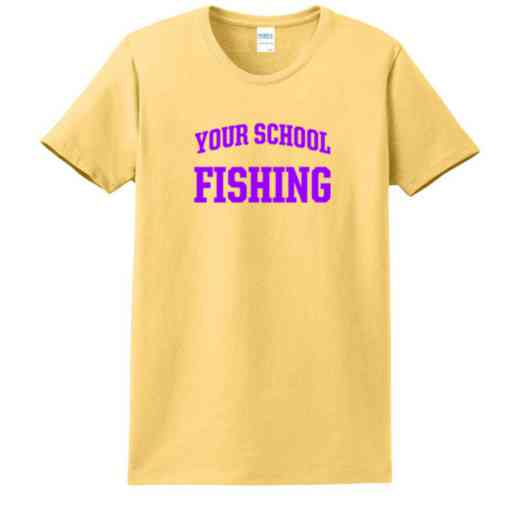 Fishing Women's Classic Fit Heavyweight Cotton T-shirt