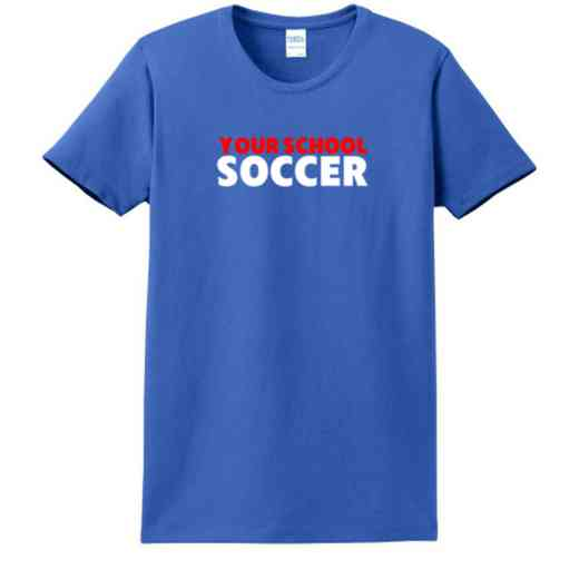 Soccer Women's Classic Fit Heavyweight Cotton T-shirt